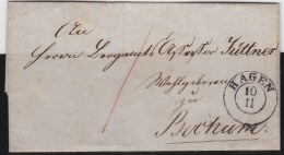 Preussen      Michel    .       Brief          .          O             .          Gebraucht   .   /    .   Cancelled - Prussia