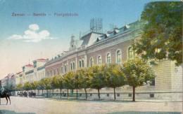 SERBIE ZEMUN (SEMLIN) POSTGEBAUDE (CARTE COLORISEE) - Serbia