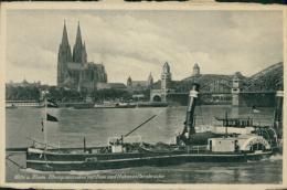DE KOLN / Rheinpanorama Mit Dom Und Hohenzollernbrücke / - Köln
