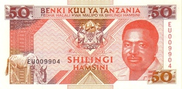 TANZANIA 50 SHILLINGS ND (1993) P-23a UNC [TZ122a] - Tanzanie