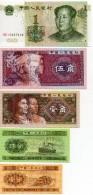 China Chine : Lot De RMB L´année 1953 ,1980 Et 1999 - 2 Yuen (Neuf N´a Jamais Circulé) - Chine