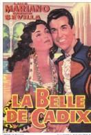 Encyclopédie Du Cinéma, 1953 LA BELLE DE CADIX De R Bernard Avec Luis MARIANO Et Carmen SEVILLA - Affiches Sur Carte