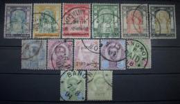 Siam Markenlot 1887 - 1909 König Chulalongkorn Gestempelt   (H163) - Siam