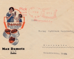 Damsil: Brause-Limonade Tabletten 1930 Von Zeitz Nach Eberswalde - Allemagne