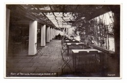 SOUTH AFRICA - CAPE TOWN, Kommetje Hotel Tarrace, 1937 - Südafrika