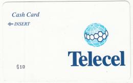 R.D.CONGO(ex Zaire) - Telecel Magnetic Telecard $10, Used - Congo