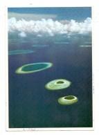 MALDIVES / MALEDIVEN, Male Atoll, Air View, 1982 - Maldiven