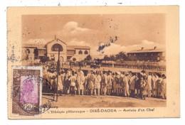 ETHOPIA / ÄTHOPIEN - DIRE DAWA / DIRE-DAOUA, Arrive D´un Chef, 1935 - Äthiopien