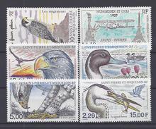 SPM - 1997-2001 - P. A N° 76 à 81 - XX - MNH - TB - - Unused Stamps