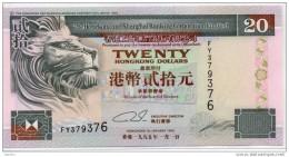 China Chine : 1995 Hong Kong 20 Dollars (Neuf N´a Jamais Circulé) - Hong Kong