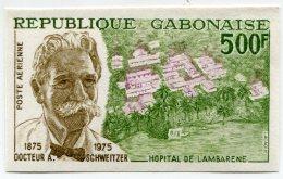 GABON PA 159 CENTENAIRE DE LA NAISSANCE DU DOCTEUR ALBERT SCHWEITZER - Albert Schweitzer