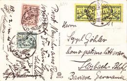 16351# VATICAN CARTE POSTALE Obl POSTE VATICANE 1930 Pour BAVIERE ALLEMAGNE BAYERN DEUTSCHLAND - Lettres & Documents