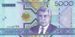 TURKMENISTAN 5000 MANAT 2005 P-21a UNC [TM214a] - Turkmenistan