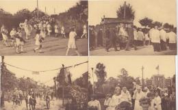 Verlaine - Lot 7 Cartes Congrès Eucharistique 1933 (top Animation, Chevaux, ...) - Verlaine