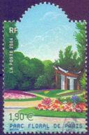 USED FRANCE 2004, Gardens Of France  -  Floral Park From Paris 1V - Usati