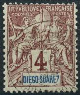 Diégo-Suarez (1893) N 40 (o) - Diégo-Suarez (1890-1898)