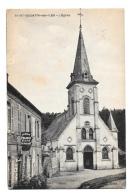 (9899-27) Saint Quentin Des Iles - L'Eglise - Café Au Bon Pèlerin - Frankreich