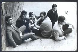 Foto *Seguí* Grupo *Los Ídolos* Meds: 118x178 Mms. Lote 2 Diferentes. Texto En Dorso. - Personas Identificadas