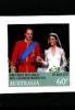 AUSTRALIA - 2011  ROYAL WEDDING INSTANT SELF ADHESIVE  MINT NH - 2010-... Elizabeth II