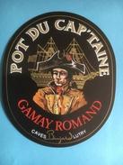 1144 - Pot Du Capt'aine Gamay Romand (Suisse) - Bateaux à Voile & Voiliers