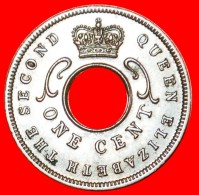 § HOLE: EAST AFRICA ★ 1 CENT 1957! LOW START ★ NO RESERVE! - British Colony
