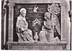 N2623 Scultura Di A. Della Robbia: Annunziata, Santuario Della Verna In Prov. Di Arezzo, Italia _ NON VIAG _ ARTE STATUE - Sculptures