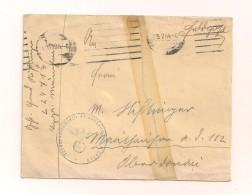 Feldpostbrief Ohne Inhalt 15.2.1944 Von FP-Nr. L 24713 Nach Oberdonau - Deutschland