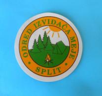 CROATIAN SCOUTS UNION MEJE Patch * Scouting Boy Scout Scoutisme Escrutinio Pfadfinder Scoutismo Padvinder Ecusson - Scouting