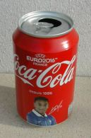 Canette Vide Collector Coca Cola Football Euro 2016 Anthony Martial - Cannettes