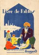 LIVRE JUNIOR Livre De Fables OFFERT PAR LES GRANDS MAGASINS Sigrand &Cie - Books, Magazines, Comics