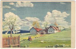 CECOSLOVACCHIA - Czechoslovakia - 1936 - 50 - Viaggiata Da Bratislava Per Praha - Auguri - Feste