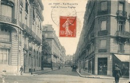 75 PARIS  -  Rue Margueritte , Prise De L,Avenue  Wagram - Arrondissement: 17