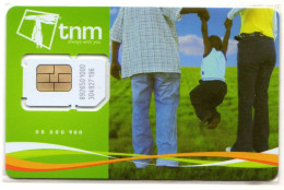 MALAWI CARTE GSM TNM Verso Numeroté - Malawi