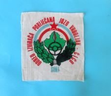 CROATIAN SCOUTS UNION JVC Sinj  Old Patch Scouting Boy Scout Scoutisme Escrutinio Pfadfinder Scoutismo Padvinder Ecusson - Scouting
