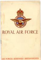 LIVRET ROYALE AIR FORCE  Les Forces Aériennes Britanniques - Catalogues