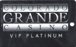 Colorado Grande Casino Cripple Creek, CO Slot Card - 2 Phone#s  (BLANK) - Casino Cards