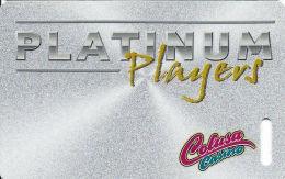 Colusa Casino Calif - Slot Card - No Line Through Players  (BLANK) - Casino Cards