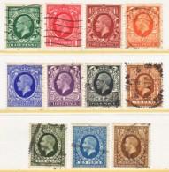 GREAT  BRITAIN  210-20    (o) - 1902-1951 (Kings)