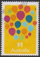 AUSTRALIA - USED 2016 $1.00 Love To Celebrate - Balloons - 2010-... Elizabeth II