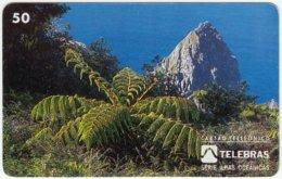 BRASIL D-460 Magnetic Telebras - Landscape, Coast - Used - Brésil