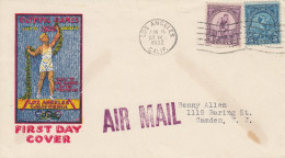 OLYMPISCHE SPIELE-OLYMPIC GAMES, USA, 1932, FDC / Special Cover / Postmark !!