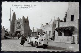 LILLE 59 - Exposition Du Progrès Social Lille Roubaix 1939 - Le Centre Colonial Et L´Entrée Du Zoo - Lille
