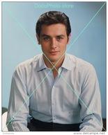 Alain Delon - 0079 - Glossy Photo 8 X 10 Inches - Berühmtheiten