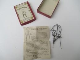 """Jeu Ancien/"""" Mon Cousin Tireliboudin""""/Casse-tête/J F J /Paris / Avec Solution/Vers 1880-1900    JE162 - Casse-têtes"""