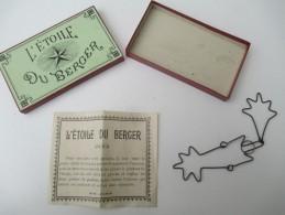 """Jeu Ancien/"""" L'Etoile Du Berger""""/Casse-tête/M D /Paris / Avec Solution/Vers 1880-1900    JE163 - Casse-têtes"""