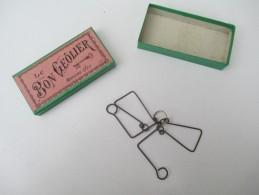 """Jeu Ancien/""""Le Bon Geôlier""""/Casse-tête/J F J  /Paris / Avec Solution/Vers 1880-1900    JE166 - Brain Teasers, Brain Games"""