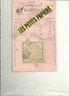 52 - Haute-marne - DAMPARIS - Facture MUTEL - Fabrique De Taillanderie – 1919 - REF 235 - France