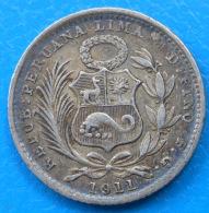 Pérou Peru Dinero 1911 Km 204.2 - Pérou