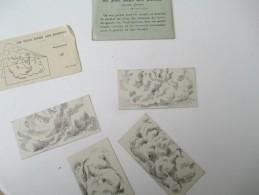 """Jeu Ancien/""""Un Sage Dans Les Nuages""""/Casse-tête Sous Enveloppe/J F J  /Paris / Avec Solution/Vers 1880-1900    JE175 - Brain Teasers, Brain Games"""