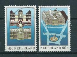 1982 Netherlands Complete Set Palaces Used/gebruikt/oblitere - Periode 1980-... (Beatrix)